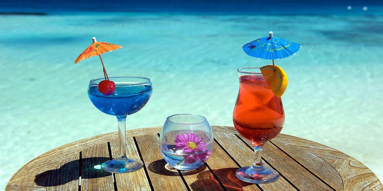 Du har säkert talats om paraplydrinkar på paradisöar, men har du upplevt det?