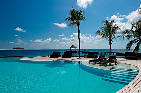 Kuredus resorts fina poolområde