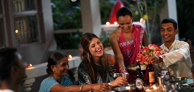 Måltid i Mauritius