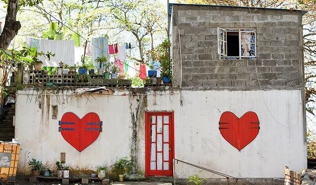 Litet hus på Mauritius