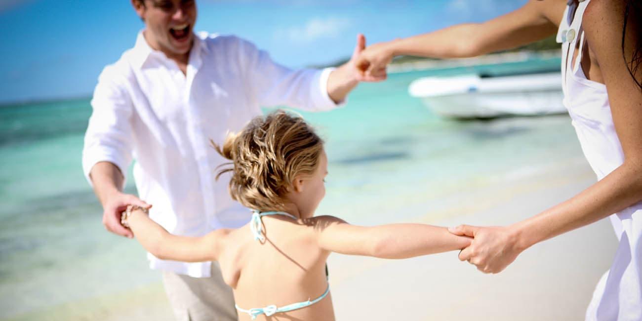 Barnen kan följa med på resa till Mauritius