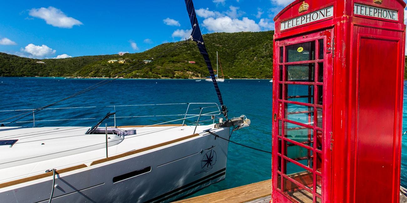 En lämplig båt för segling i Karibien