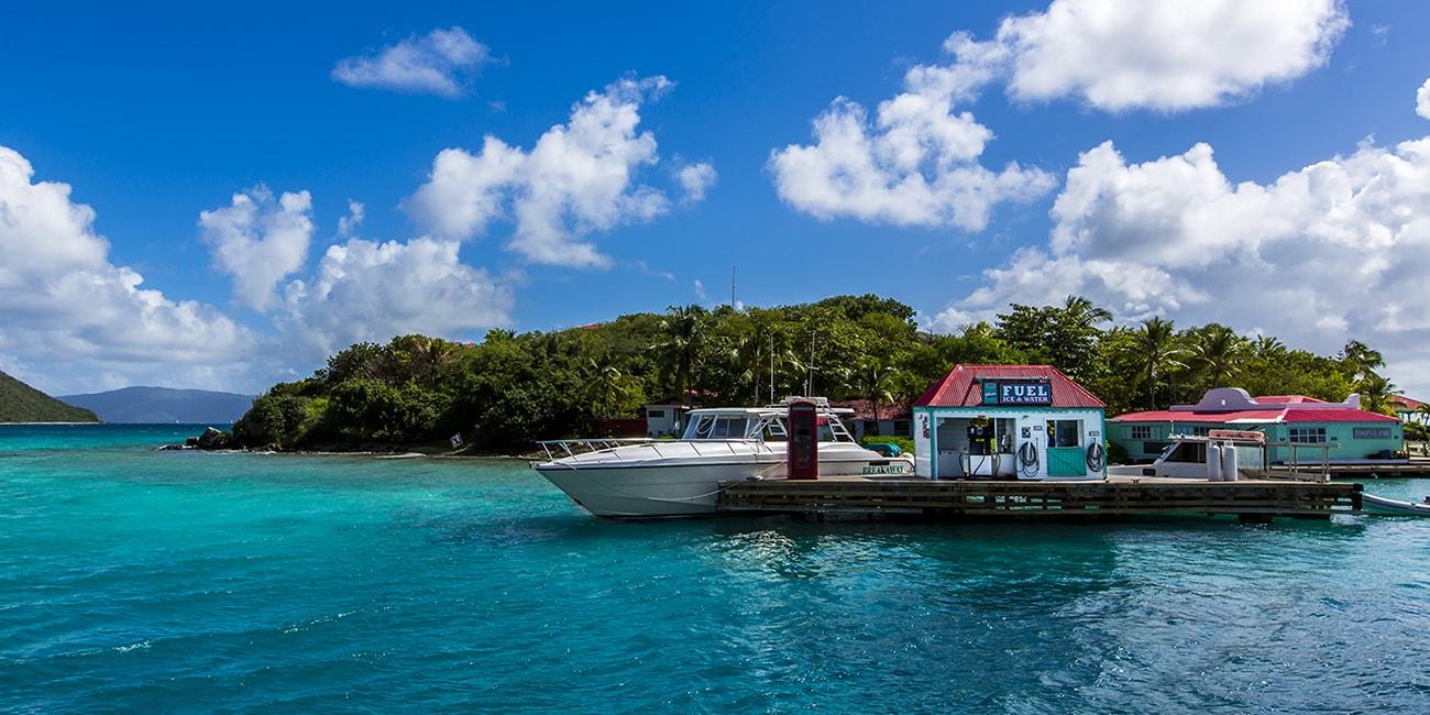 Man kan få möjlighet att hyra båt Karibien