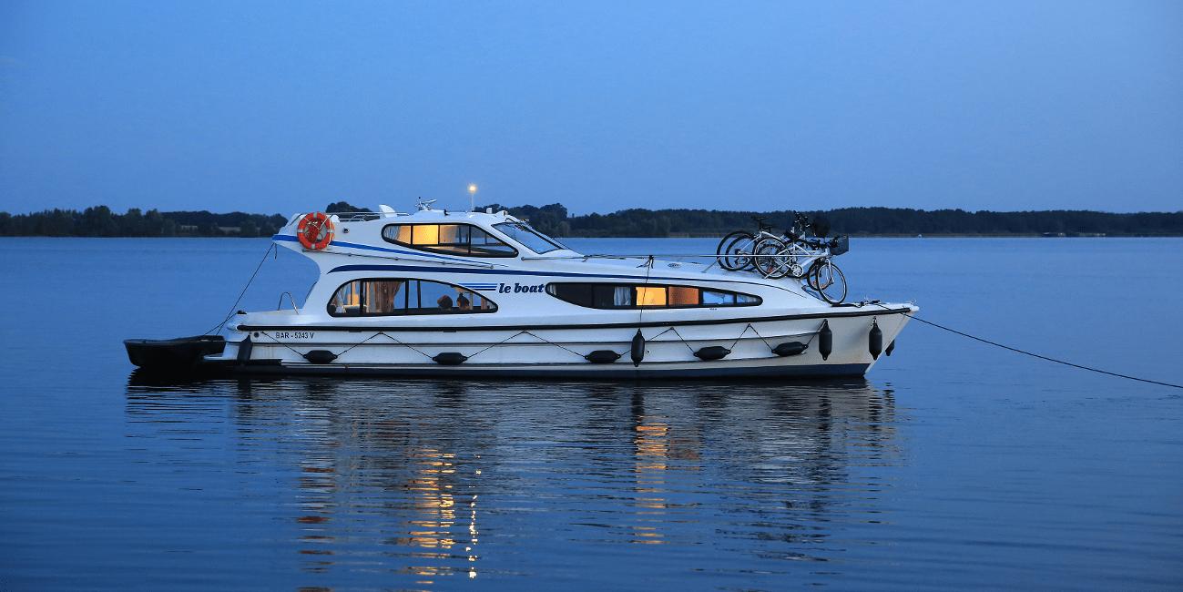 Ta en yacht istället om du har höga krav