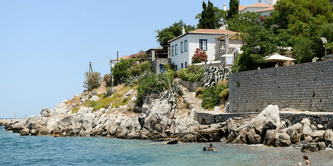 Fina bostäder med havsutsikt