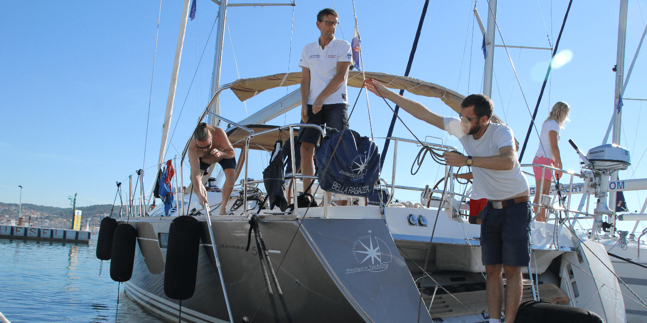 Boka en rundresa och stig på vår segelbåt till Kroatien