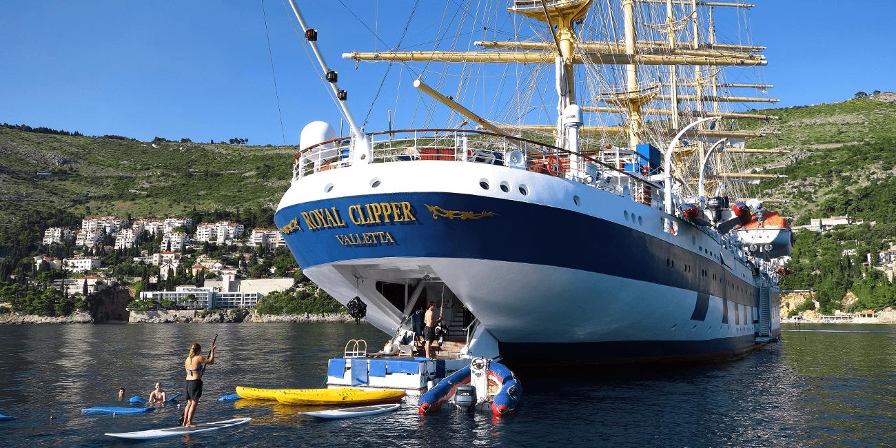 Star Clippers är vår båt för dig som vill boka ett paket