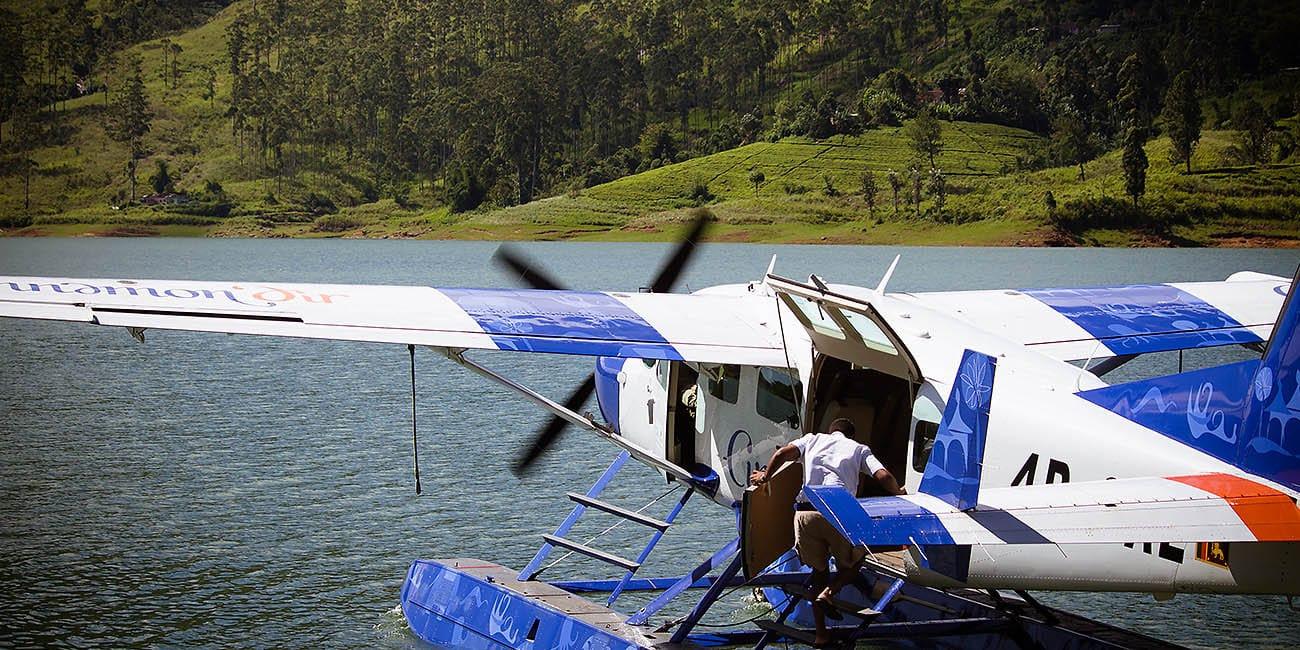Vissa destinationer kräver en privatflygning