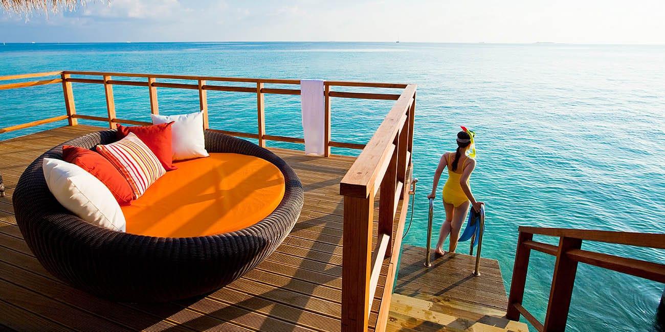 Paketresa Maldiverna kan även passa hela familjen