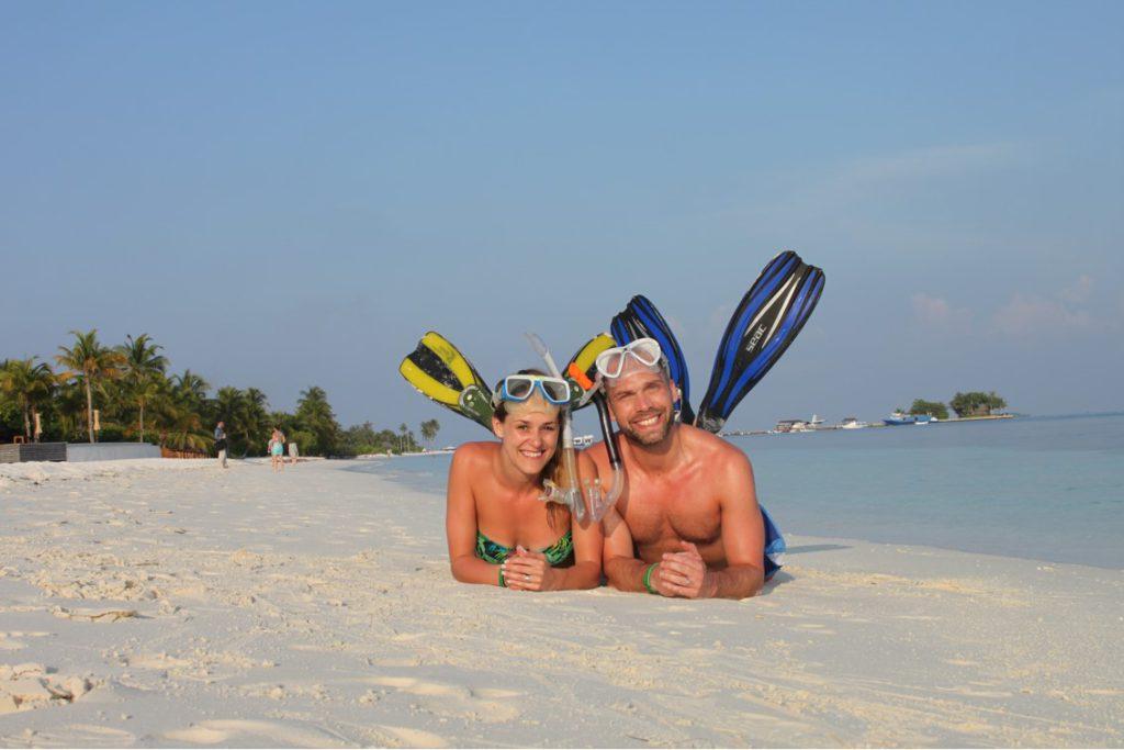 Paret vill även dyka och roa sig också