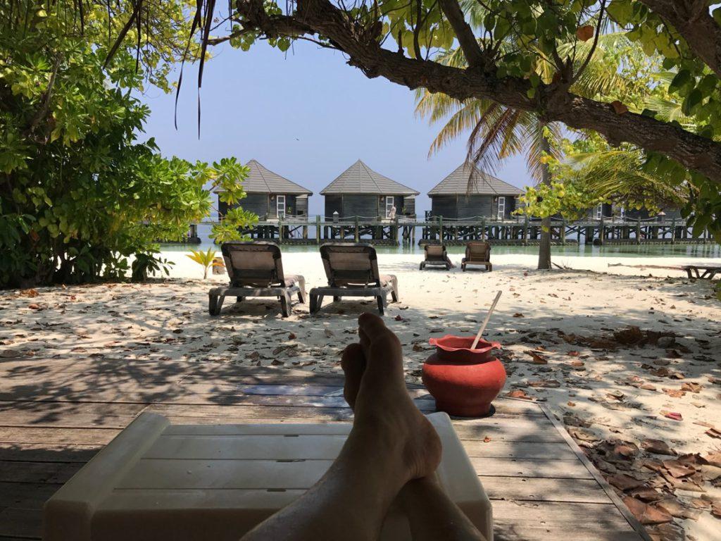 Brölopsresa på Maldiverna