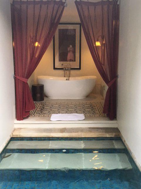 Pool och bad i Lombok