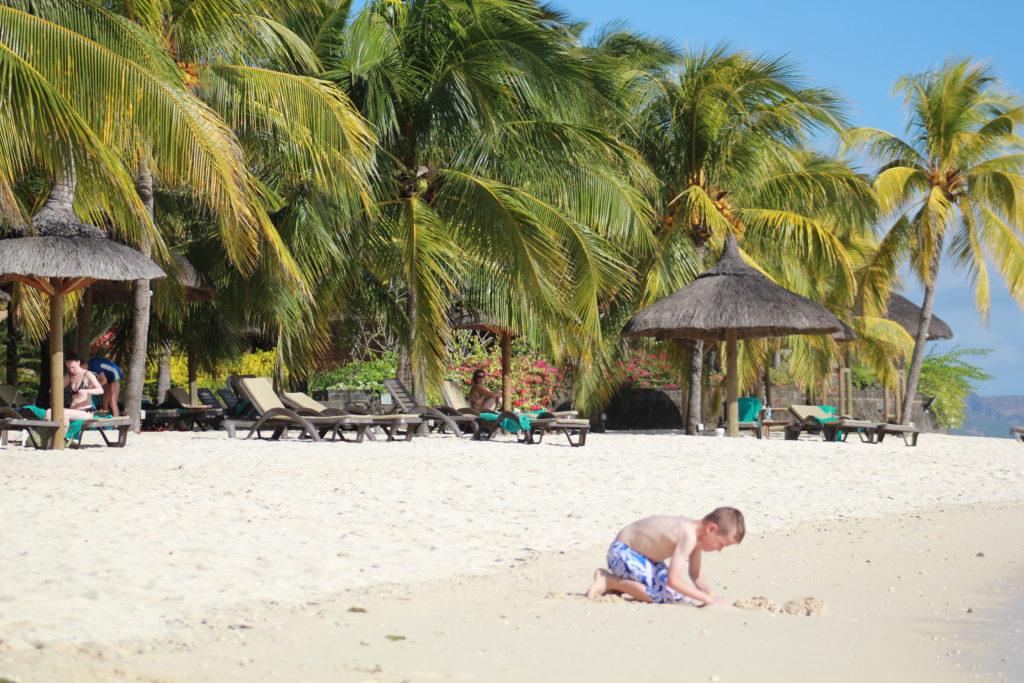 Alla har inte chansen att åka på resor till Mauritius