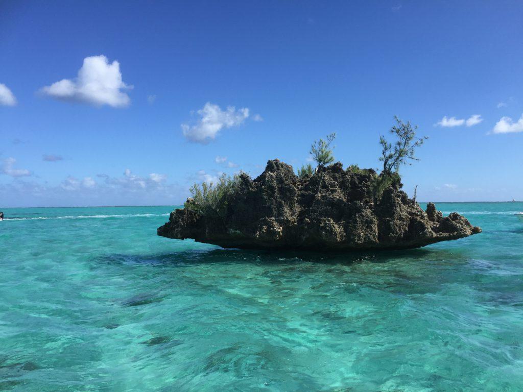 En liten ö i miniformat