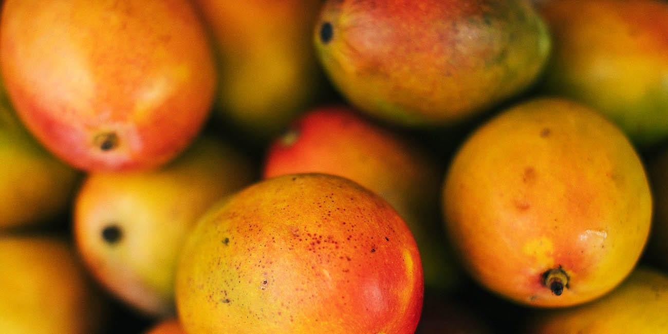 Frukt och grönt i paradiset