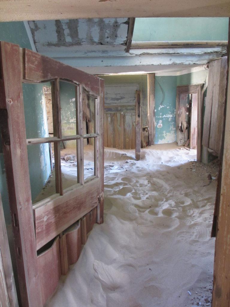 Detta hus i Nambia har varit öde i minst ett sekel