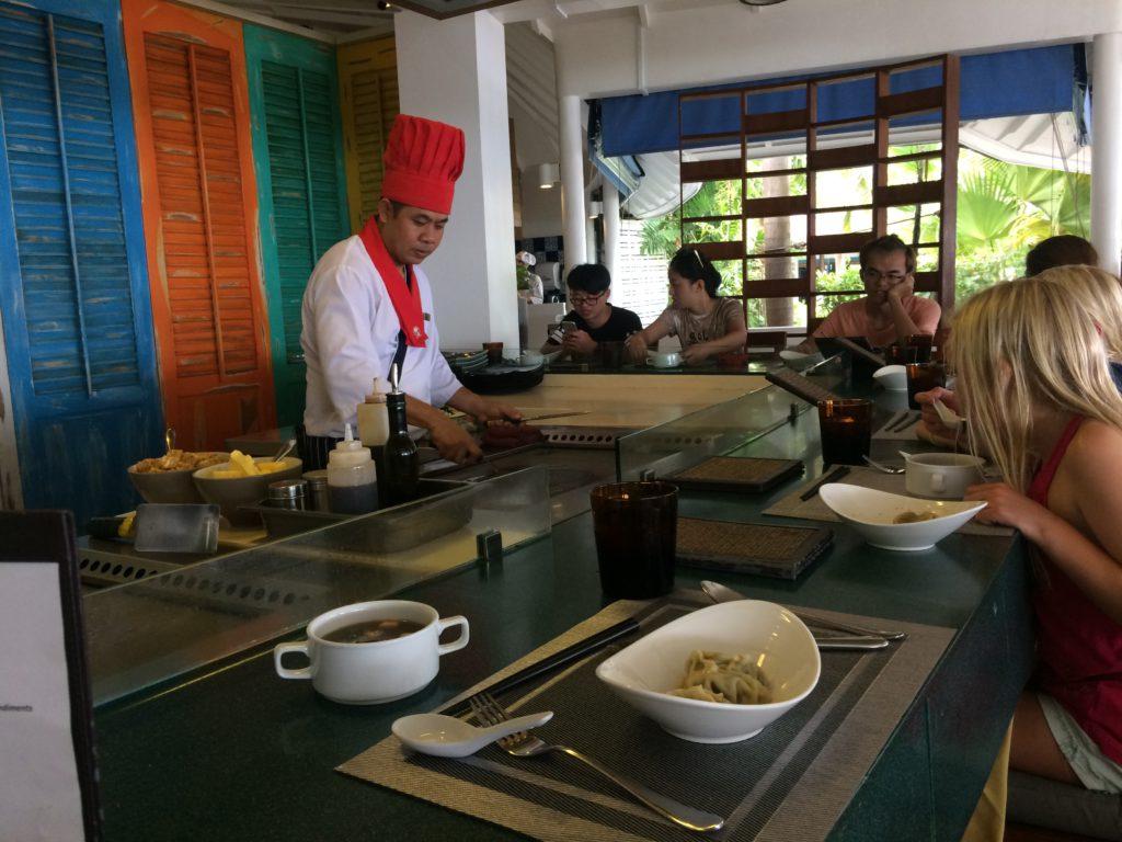 På Maldiverna finns trevliga kök
