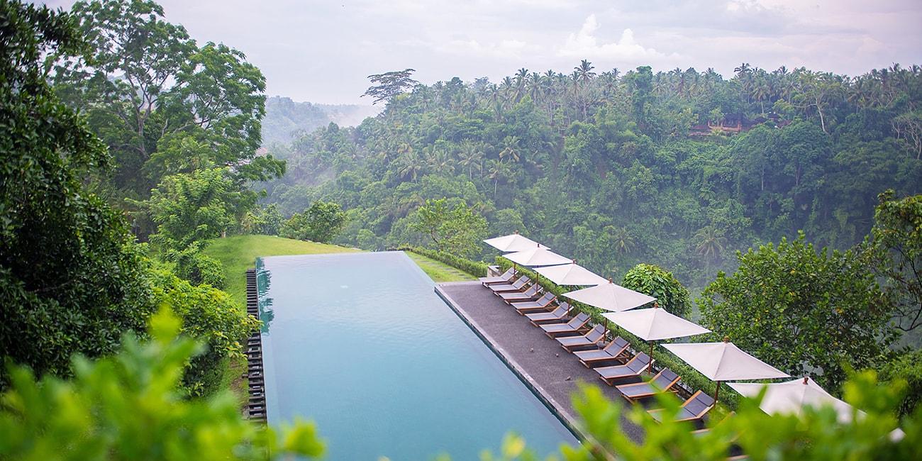 Bali har ett stundtals regnigt men behagligt klimat klimat