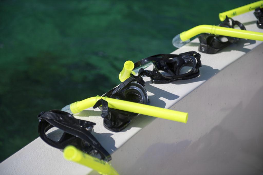 På våra paketresor kan man fiska, bada och dyka