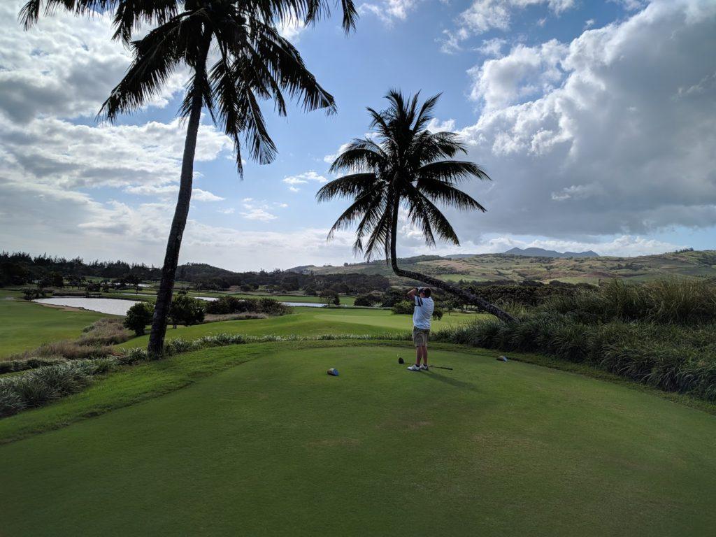 Du kan också spela golf på vissa av våra paketresor