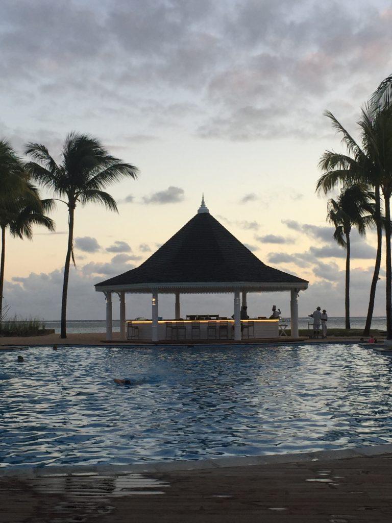 Mauritius är en bra plats att bada på