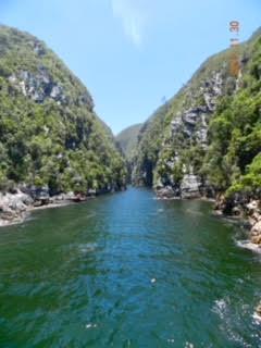 Rundtur längst vattnet i Sydafrika