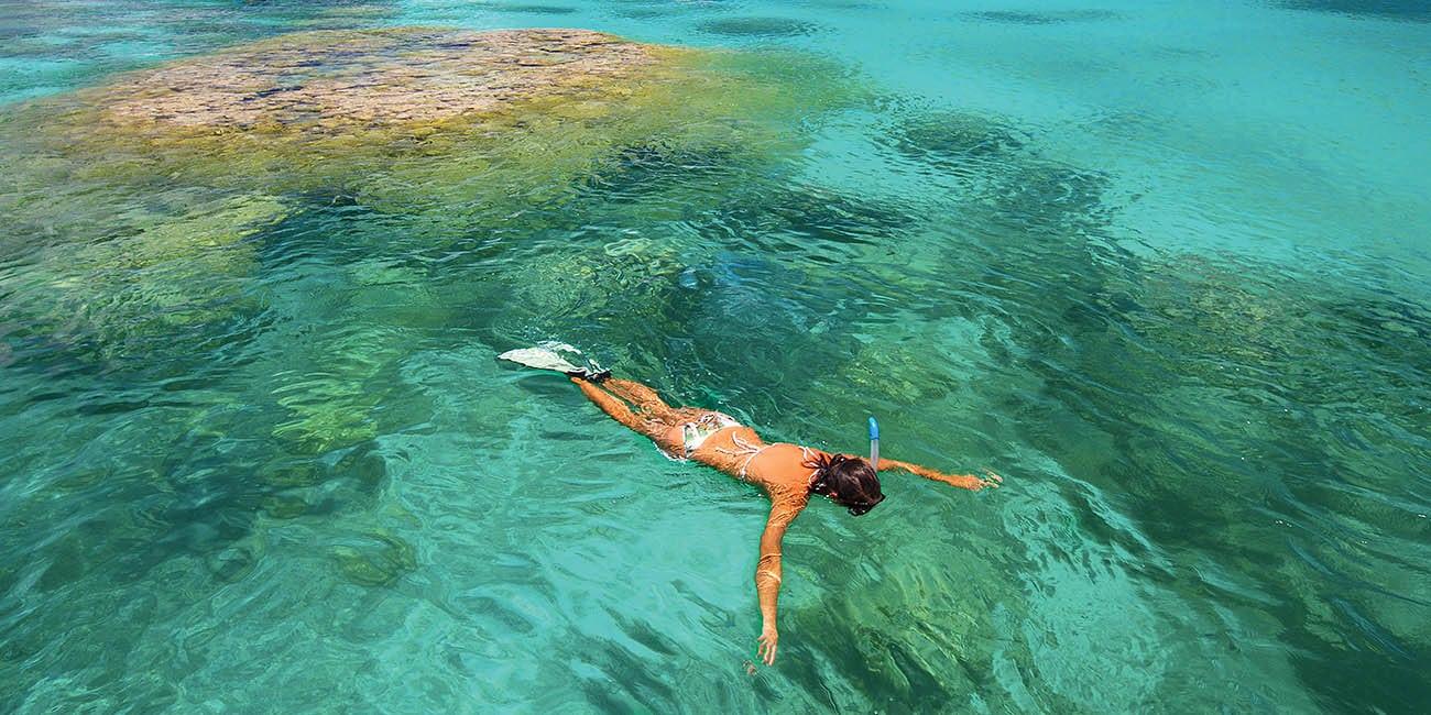 Vill du sola, bada eller dyka?