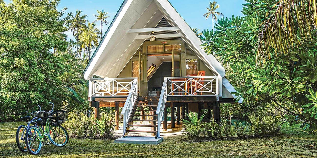 Bo som i en saga på en paradisö i Seychellerna
