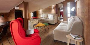 Bo lyxigt i en skön suite