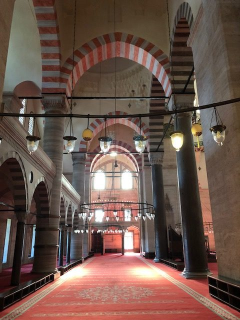 Arkitekturen i Suyleymanmoskeen är enastående