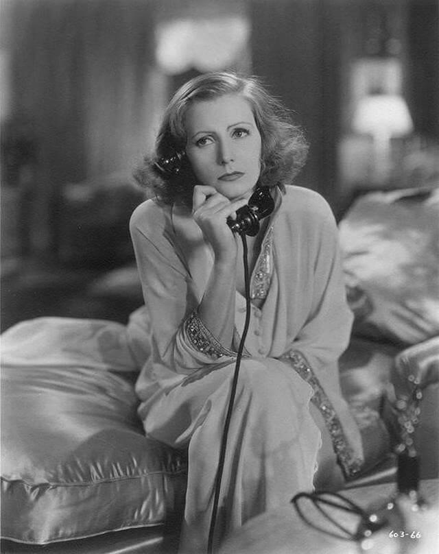 Greta Garbo filmning