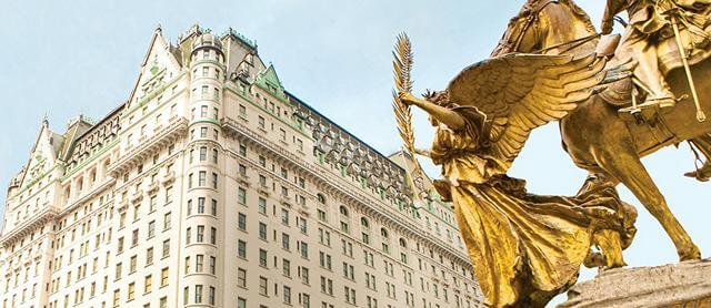The Plaza Hotel New York.