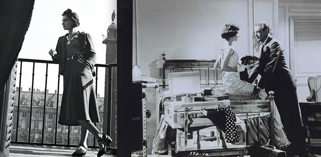 Coco Chanel, Audrey Hepburn och Gary Cooper på The Ritz