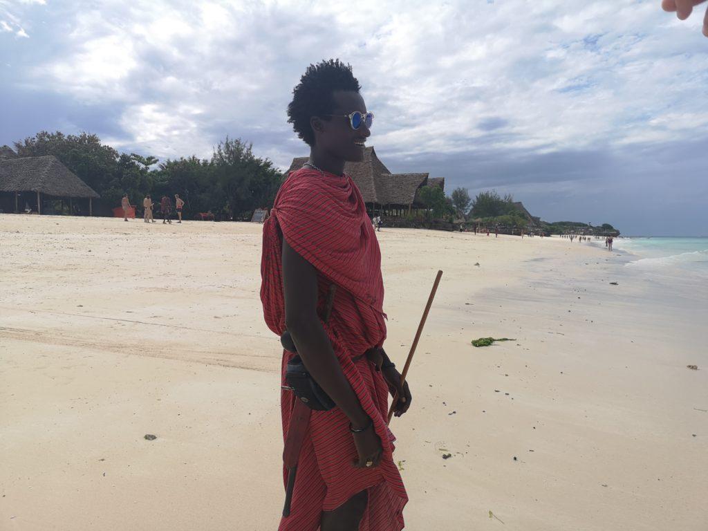 Masaai i solglasögon