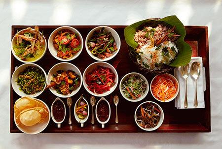 Maten på restaurang The Dining Room