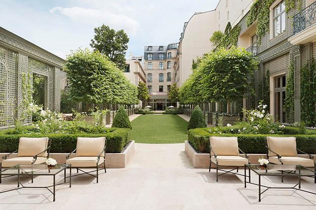 Trädgården på The Ritz, Paris