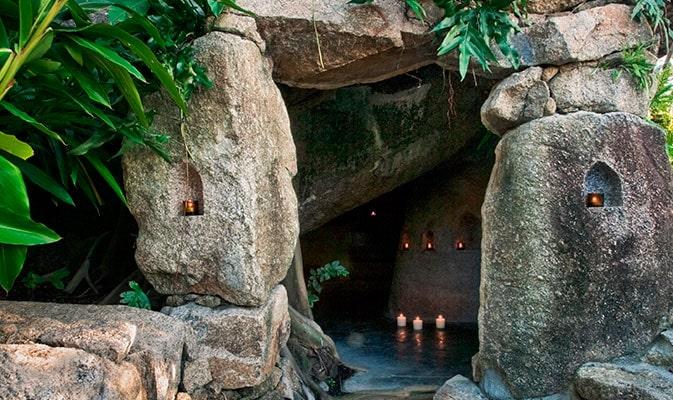 Grottan på Kamalaya Spa