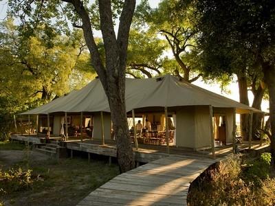 Zarafa Camp från utsidan