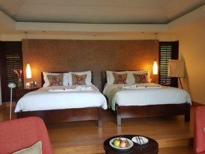 Rum på Raffles Seychellerna