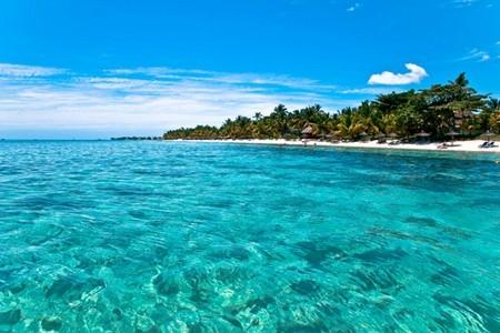 Paradisstrand på Mauritius