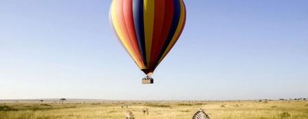 Ballongflygning med safari