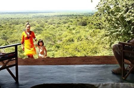 Utsikten vid Kipalo Hills Safari Lodge