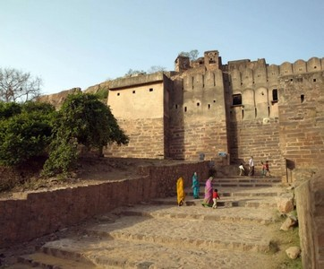 Fort Ranthambore, Indien.
