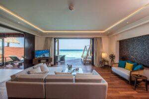 Utsikt från Ocean Suite över Indiska Oceanen