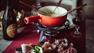 Mmmm.... fondue värmer och mättar!