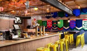 Den färgglada baren