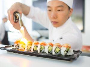Sushi vid havet
